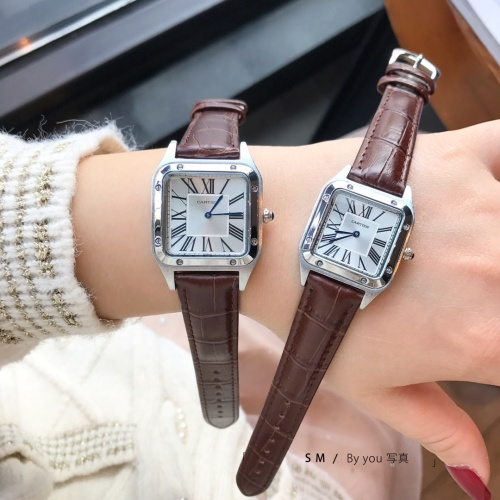 Replica Cartier Watches For Women #857385 $29.00 USD for Wholesale