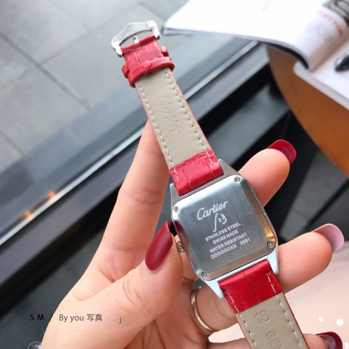 Replica Cartier Watches For Women #857389 $29.00 USD for Wholesale