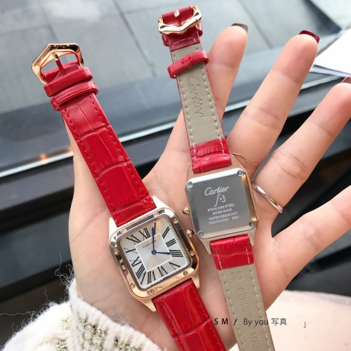 Replica Cartier Watches For Women #857390 $29.00 USD for Wholesale