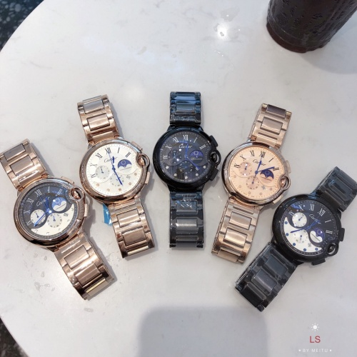 Replica Cartier Watches For Men #857399 $44.00 USD for Wholesale