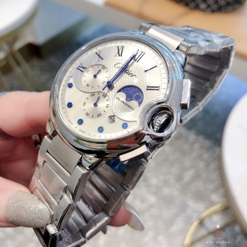Replica Cartier Watches For Men #857405 $44.00 USD for Wholesale