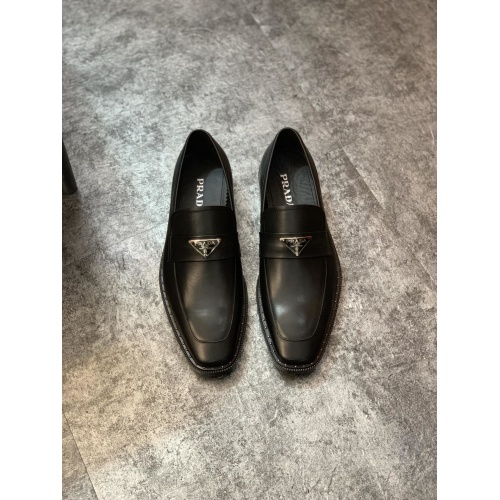 Prada Leather Shoes For Men #857558