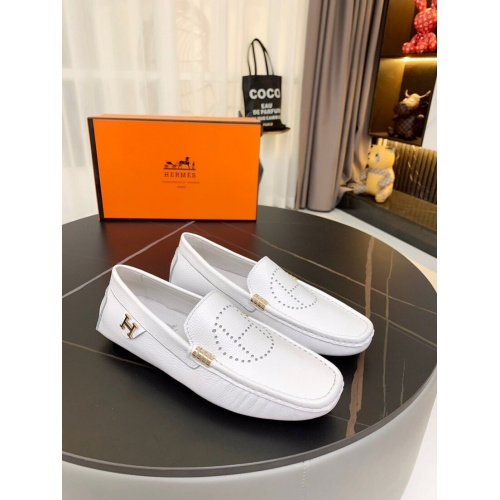 Hermes Leather Shoes For Men #857565