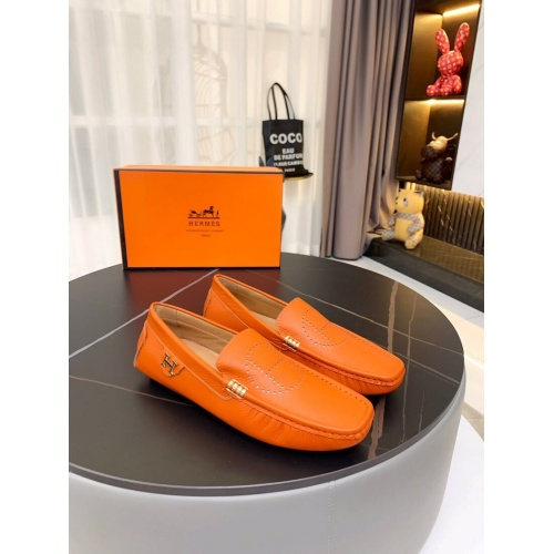 Hermes Leather Shoes For Men #857566