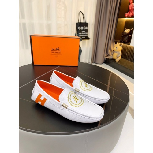 Hermes Leather Shoes For Men #857568