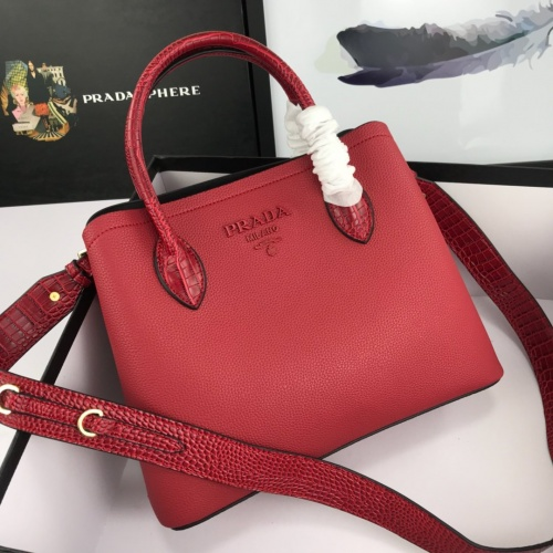 Prada AAA Quality Handbags For Women #857691