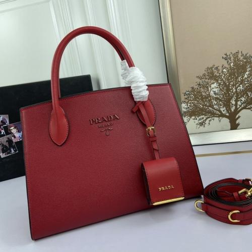Prada AAA Quality Handbags For Women #857748