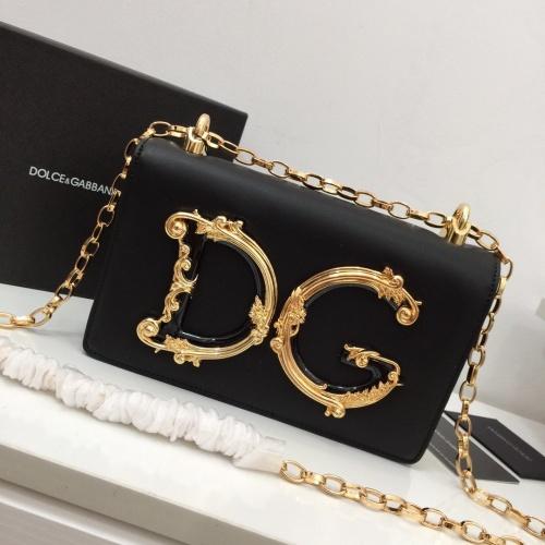 Dolce & Gabbana D&G AAA Quality Messenger Bags For Women #857782