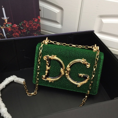 Dolce & Gabbana D&G AAA Quality Messenger Bags For Women #857792