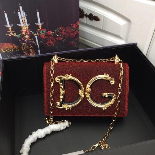 Dolce & Gabbana D&G AAA Quality Messenger Bags For Women #857793