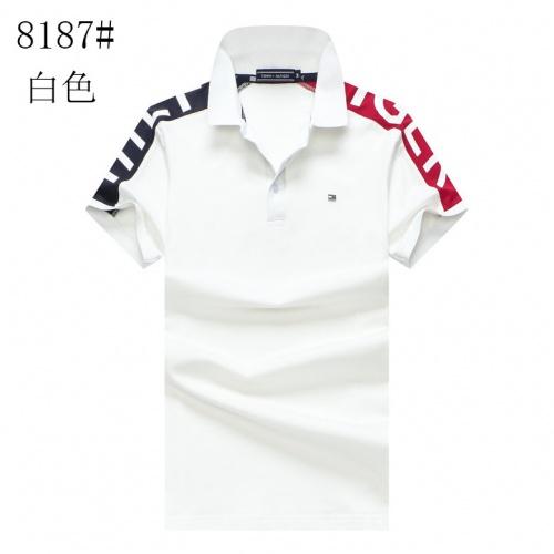 Tommy Hilfiger TH T-Shirts Short Sleeved For Men #857860