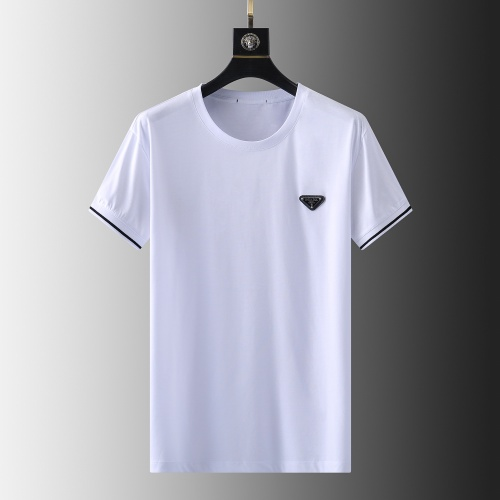 Prada T-Shirts Short Sleeved For Men #857879