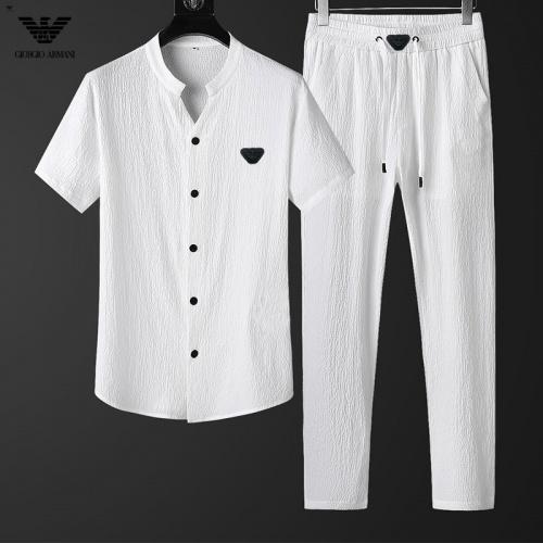 Armani Tracksuits Short Sleeved For Men #857901