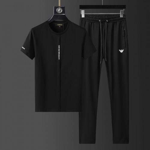 Armani Tracksuits Short Sleeved For Men #857926