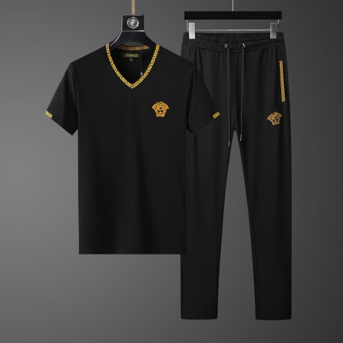 Versace Tracksuits Short Sleeved For Men #857938