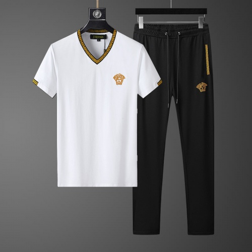Versace Tracksuits Short Sleeved For Men #857939