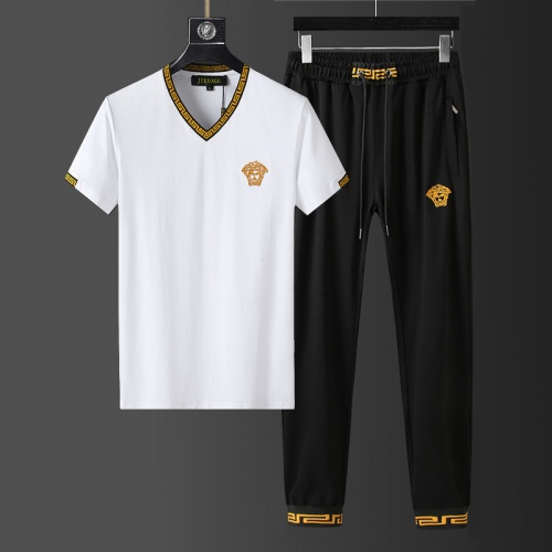 Versace Tracksuits Short Sleeved For Men #857941