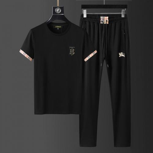Burberry Tracksuits Short Sleeved For Men #857954
