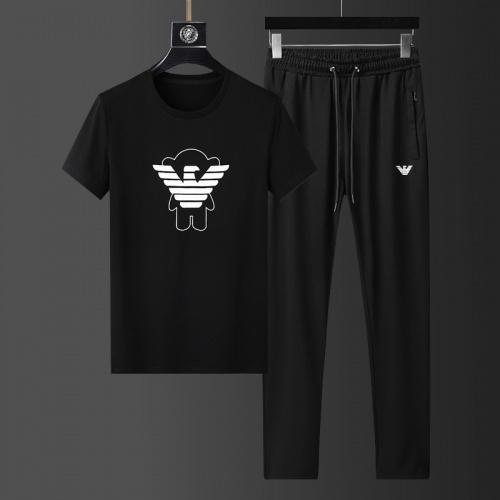 Armani Tracksuits Short Sleeved For Men #857959