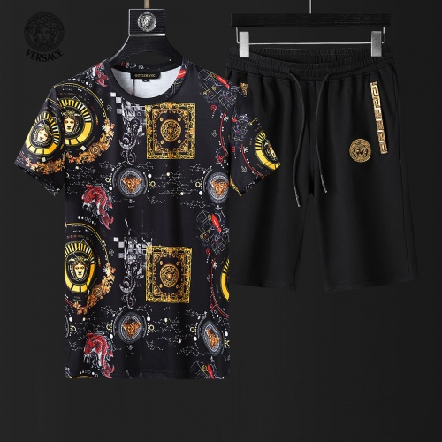 Versace Tracksuits Short Sleeved For Men #857968