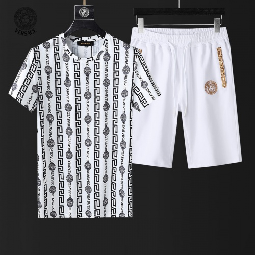 Versace Tracksuits Short Sleeved For Men #857975