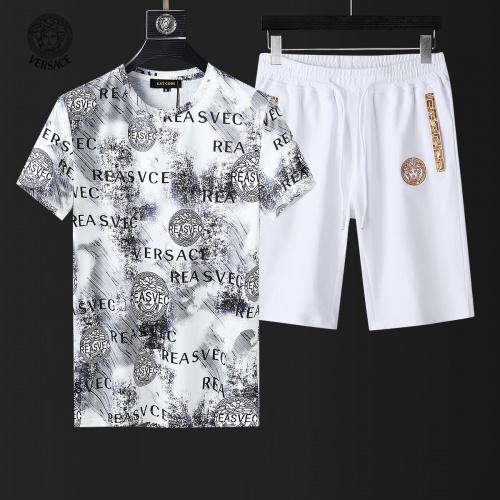 Versace Tracksuits Short Sleeved For Men #857981