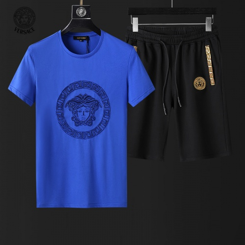 Versace Tracksuits Short Sleeved For Men #857985