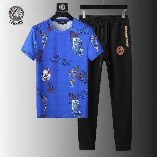 Versace Tracksuits Short Sleeved For Men #858074