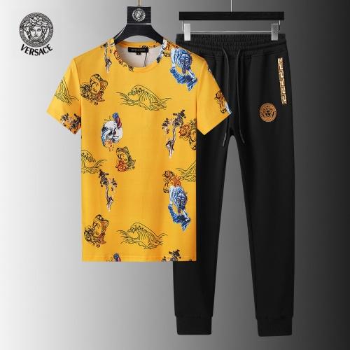 Versace Tracksuits Short Sleeved For Men #858075