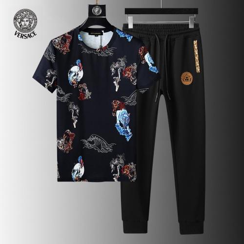 Versace Tracksuits Short Sleeved For Men #858078