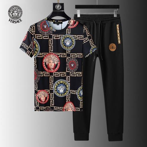Versace Tracksuits Short Sleeved For Men #858083