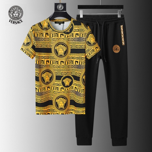 Versace Tracksuits Short Sleeved For Men #858084