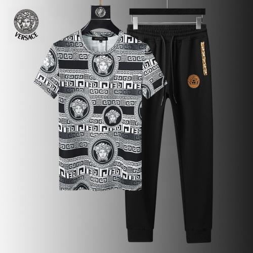 Versace Tracksuits Short Sleeved For Men #858085