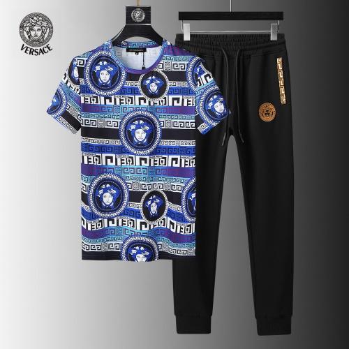 Versace Tracksuits Short Sleeved For Men #858087