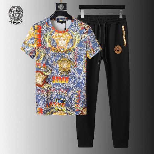 Versace Tracksuits Short Sleeved For Men #858088