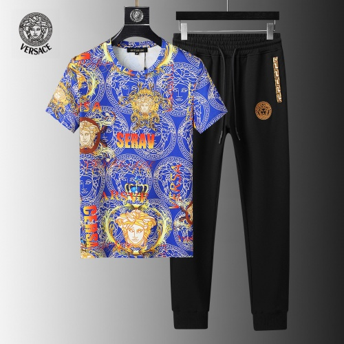 Versace Tracksuits Short Sleeved For Men #858089