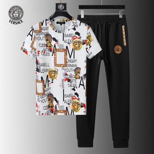 Versace Tracksuits Short Sleeved For Men #858091