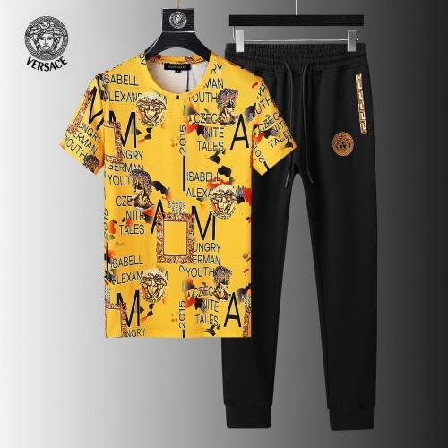 Versace Tracksuits Short Sleeved For Men #858092