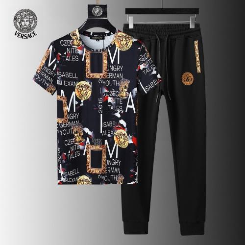 Versace Tracksuits Short Sleeved For Men #858093
