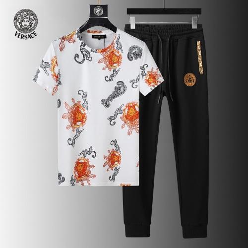 Versace Tracksuits Short Sleeved For Men #858094