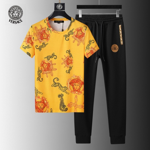 Versace Tracksuits Short Sleeved For Men #858095