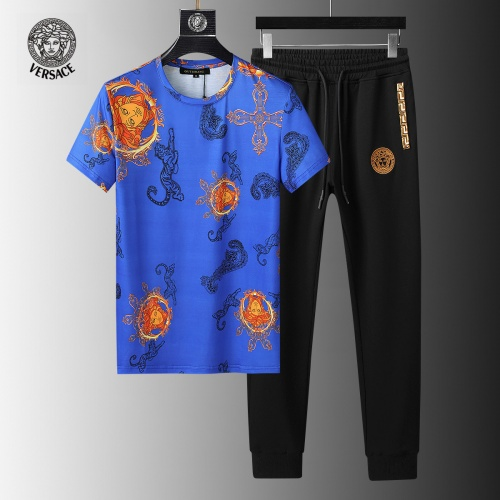 Versace Tracksuits Short Sleeved For Men #858096