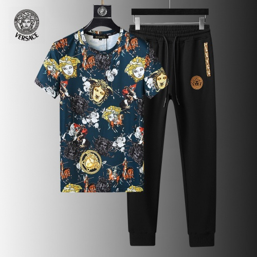 Versace Tracksuits Short Sleeved For Men #858100