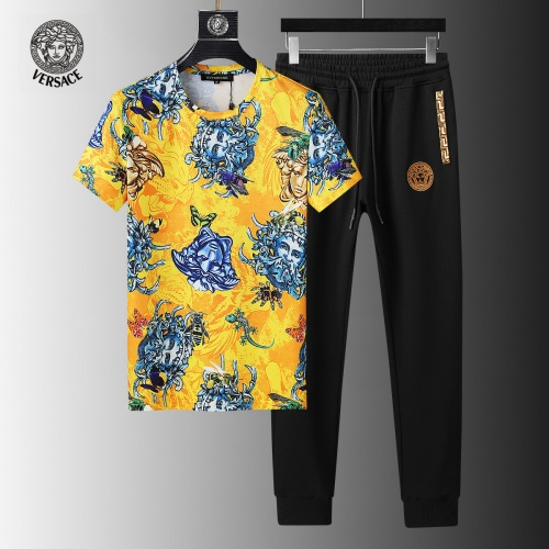 Versace Tracksuits Short Sleeved For Men #858101
