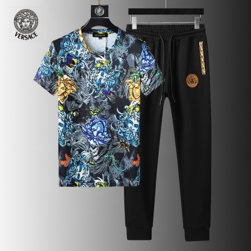 Versace Tracksuits Short Sleeved For Men #858102