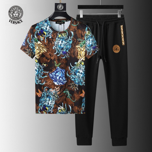 Versace Tracksuits Short Sleeved For Men #858103