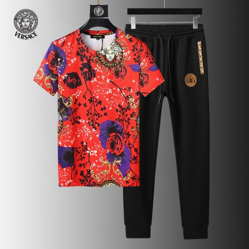Versace Tracksuits Short Sleeved For Men #858104