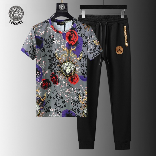Versace Tracksuits Short Sleeved For Men #858105