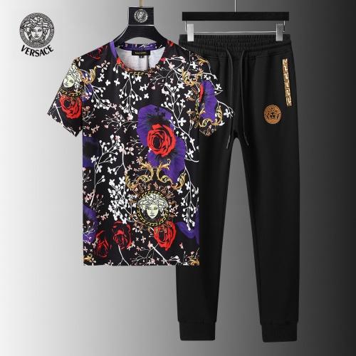Versace Tracksuits Short Sleeved For Men #858106