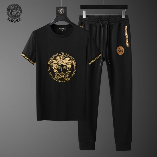 Versace Tracksuits Short Sleeved For Men #858107